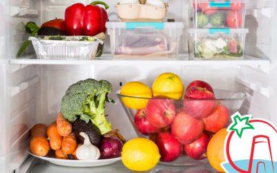 ¿Cómo conservar frutas y verduras frescas?
