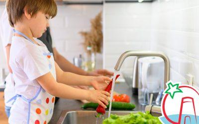 ¿Cómo lavar frutas y verduras?