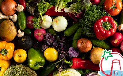 Propiedades de las verduras según su color